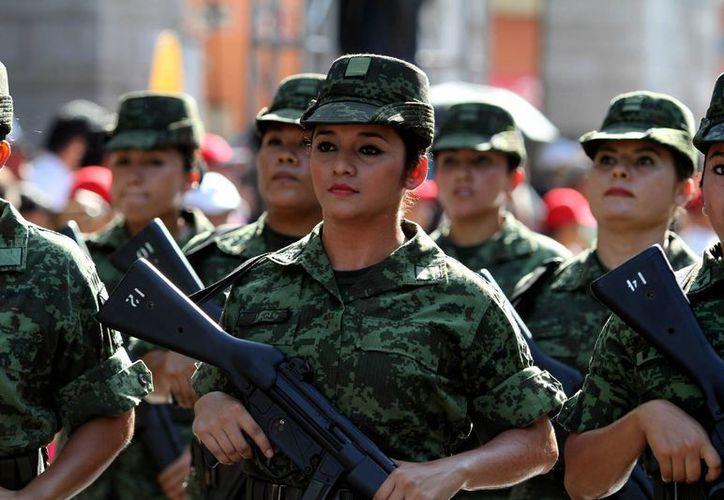 La Secretaría de la Defensa Nacional creó un mecanismo para prevenir y combatir el acoso sexual en las tropas. (Archivo/Notimex)