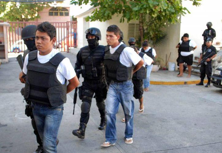 Los jóvenes detenidos en la capital potosina tenían entre 18 y 28 años de edad, indicaron las autoridades. (Imagen de referencia/Archivo/SIPSE)