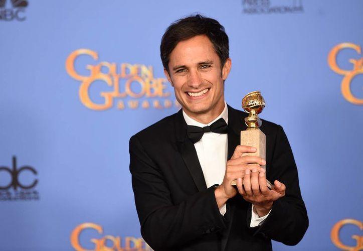 Gael García fue nombrado invitado de honor para las festividades del cine que se celebrará del 21 al 30 de octubre en Morelia. (EFE)
