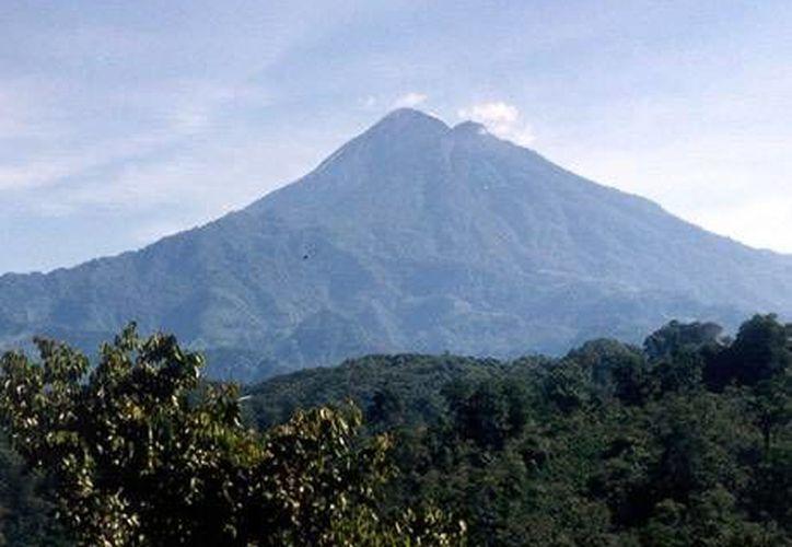 El volcán El Chichón tiene un nivel de energía bajo, subrayan especialistas. (cmvs.chiapas.gob.mx)