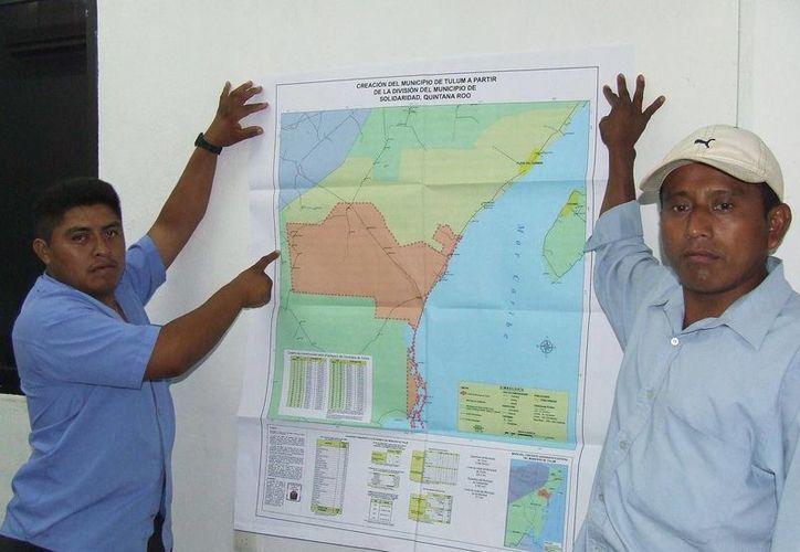 Habitantes de Yalchén, San Silverio y José María Pino Suárez piden a las autoridades definir su situación  geográfica. (Rossy López/SIPSE)