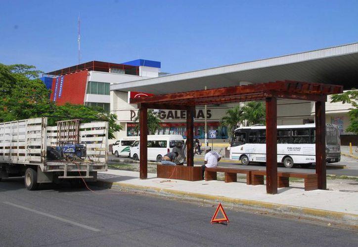 De acuerdo con la Dirección de Transporte y Vialidad, son mil 200 las unidades que circulan por la zona. (Tomás Álvarez/SIPSE)