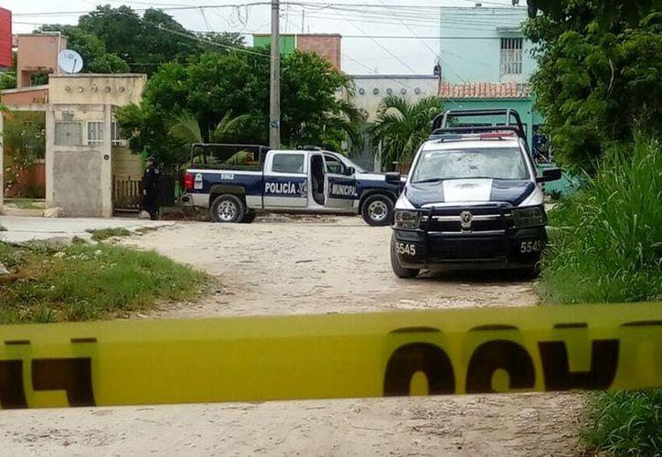 Los hechos se registraron dentro de una vivienda de la colonia irregular Guerrero. (Redacción/SIPSE)