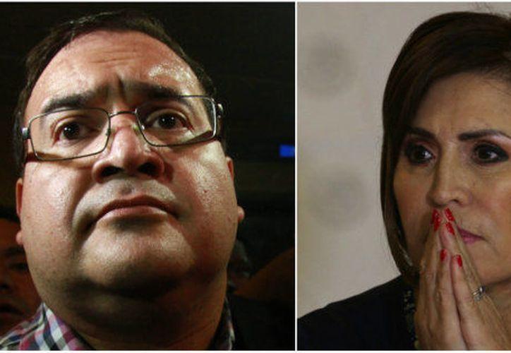 Ambos personajes son acusados de desviar millones de las dependencias a su cargo. (Huffington Post)