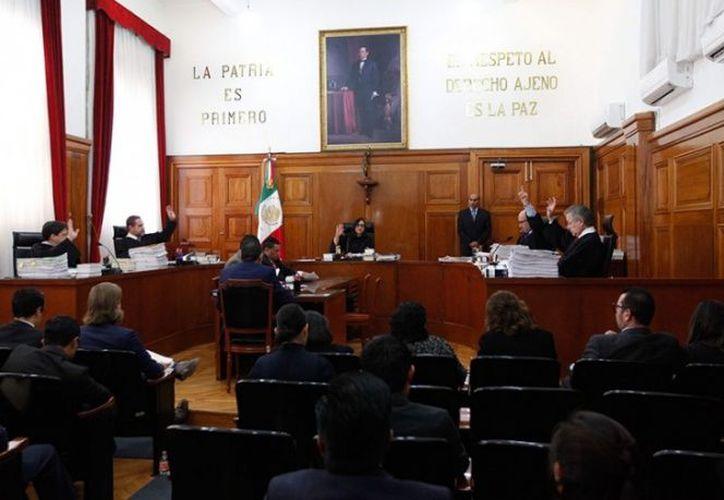 La Suprema Corte de Justicia de la Nación confirmó la destitución del cargo del juez Ramos Silva. (Foto: Cuartoscuro)