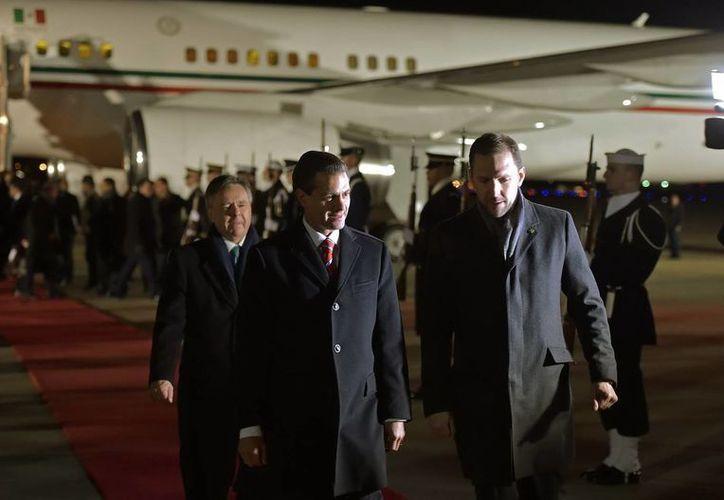 El presidente mexicano se reunirá este martes con su homólogo norteamericano, Barack Obama, para discutir varios temas como el migratorio. (Notimex)