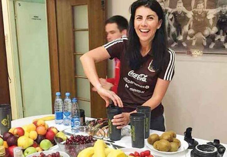 La nutrióloga Beatriz Boullosa habla sobre los gustos y necesidades de la Selección Mexicana. (Foto tomada de excelsior)