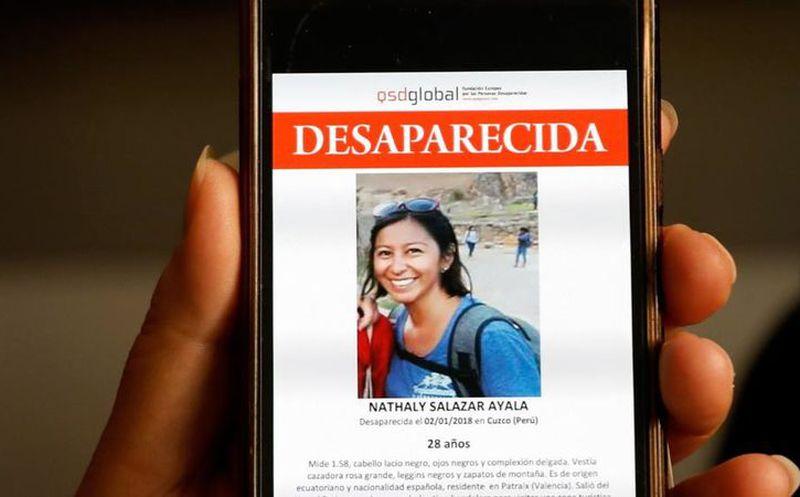La Policía busca en la montaña a ecuatoriana desaparecida en Cuzco