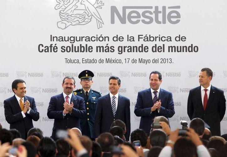 El mandatario estatal aseguró que México vive un buen momento para atraer inversiones. (presidencia.gob.mx)
