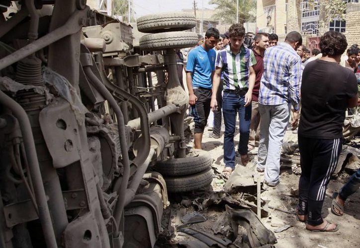 """Los ataques con coches-bomba se han vuelto """"comunes"""" en las últimas semanas en Irak. (Agencias)"""