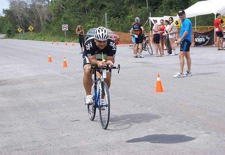Con la participación de los mejores exponentes del ciclismo en Quintana Roo, se realizará la cuarta carrera contrarreloj. (Redacción/SIPSE)