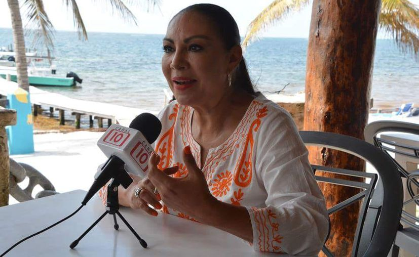 Ludivina hizo el llamado de paz desde el primer minuto de iniciada su campaña.