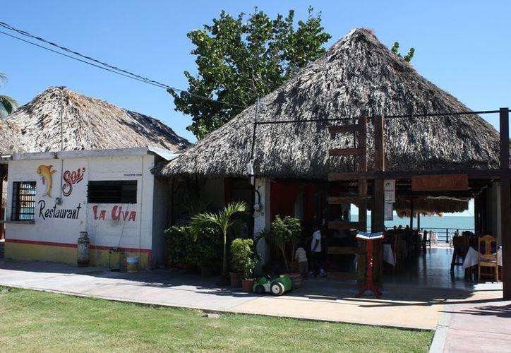 El sitio turístico de Calderitas opera con regularidad. (Enrique Mena/SIPSE)