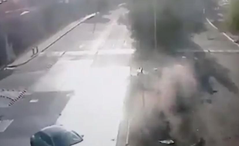 Video del accidente del jugador Joao Maleck. (Foto: Captura de pantalla)