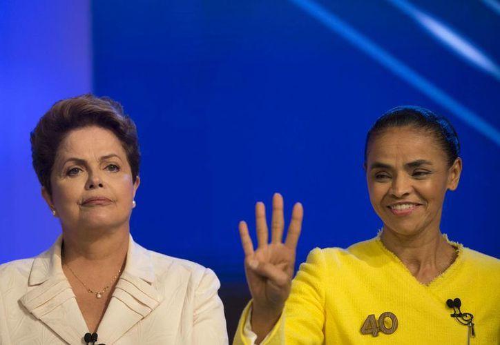 Los brasileños elegirán si continúan con los avances de la administración de Rousseff o se inclinan por la renovación que ofrece Marina Silva. (AP)