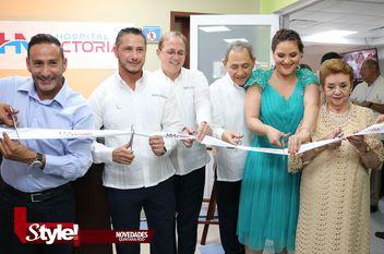 Hospital Victoria, inaugura instalaciones remodeladas