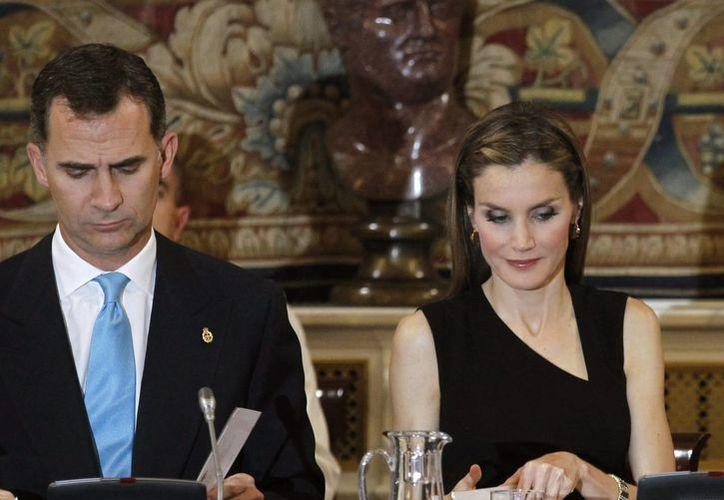 Los Príncipes de Asturias, don Felipe y doña Letizia. (Archivo/EFE)