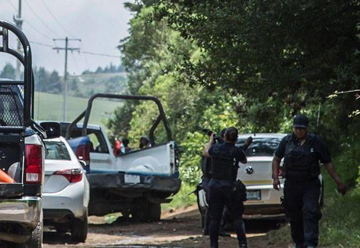 Un militar y tres de los agresores resultaron lesionados tras un enfrentamiento registrado esta tarde en Parácuaro, Michoacán. (Excélsior)