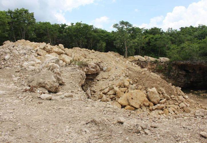 El Ayuntamiento recalca que está a la espera de acciones estatales o federales en el caso del cenote de El Campestre.  (Redacción/SIPSE)