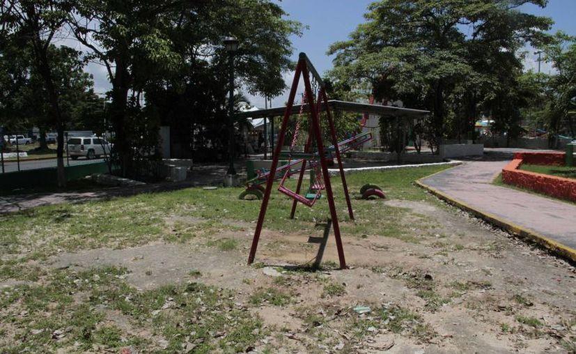 En el municipio existen 350 parques. (Tomás Álvarez/SIPSE)