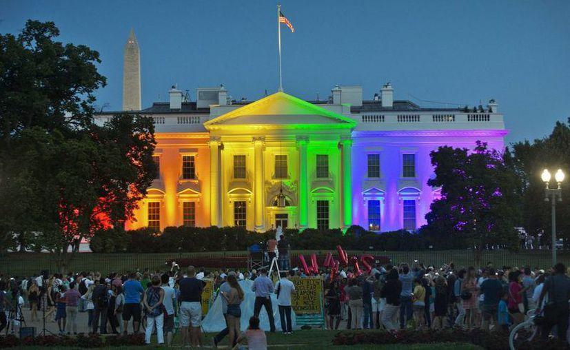 Durante el mandato de Obama se legalizaron los matrimonios entre personas del mismo sexo en todo EU. La comunidad gay piensa que con Donald Trump habrá un retroceso en sus derechos. (AP/Pablo Martinez Monsivais)