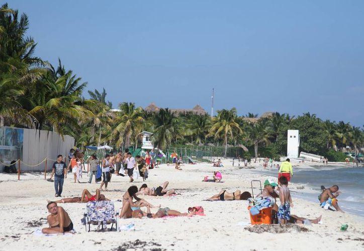 Con la nueva delimitación de la Zofemat se espera que aparezcan nuevas playas que podrían concesionarse. (Adrián Barreto/SIPSE)