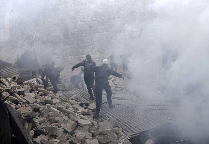 Desde el estallido de la violencia en Siria, han fallecido más de 150 mil personas. (EFE)