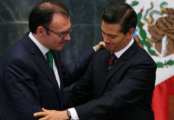 Luis Videgaray es una de las personas más cercanas al Presidente Peña Nieto. (Archivo/Agencias)
