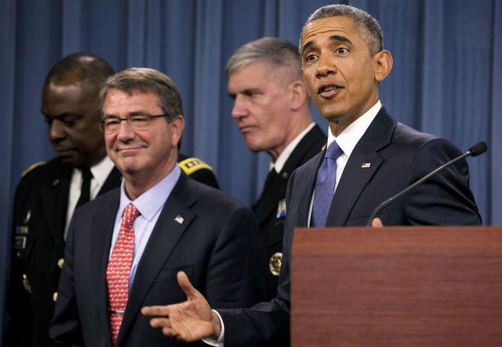 El presidente Obama asegura que la derrota final del Estado Islámico no será rápida. (AP)