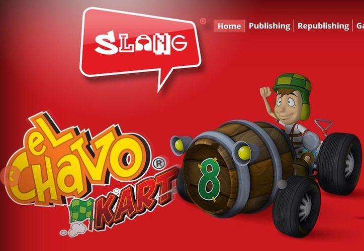 """El videojuego de """"El Chavo Kart"""" fue desarrollado por Efecto Studios y publicado por Slang. (slang.vg)"""