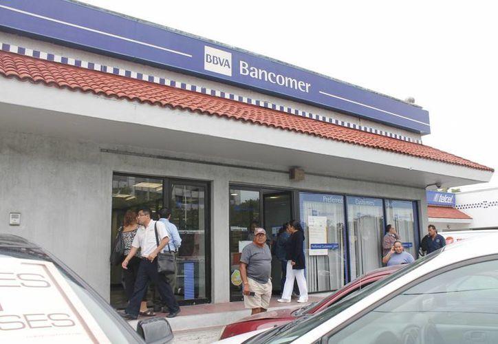 El correo está dirigido a usuarios de BBVA Bancomer. (Jesús Tijerina/SIPSE)