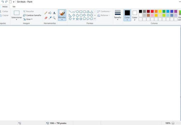 En la próxima actualización del Windows 10 Paint dejará de funcionar. (Foto: Redacción)
