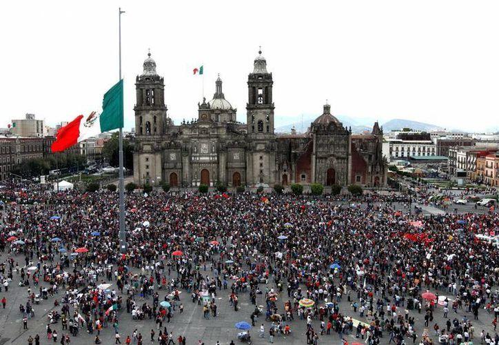 La protesta de los profesores se replicó en alrededor de 15 estados del país, en rechazo a la reforma educativa. (Notimex)