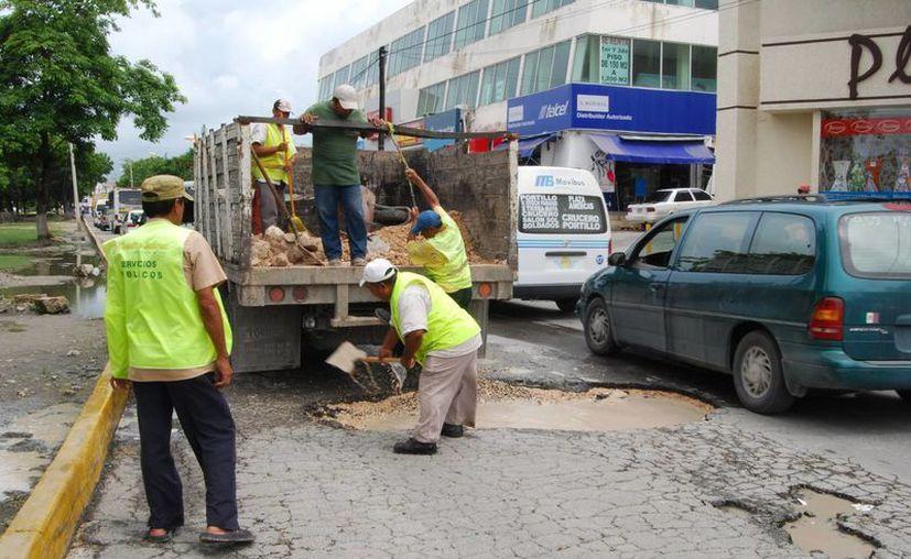 Obras Públicas solicitará la compra de material pétreo para trabajar en frío. (Tomás Álvarez/SIPSE)