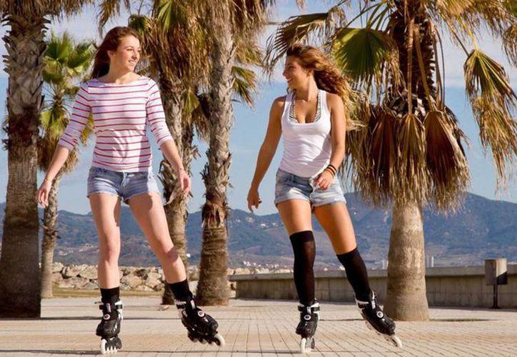 El roller derby es un deporte en el que predominantemente participan mujeres. (Contexto/Internet)