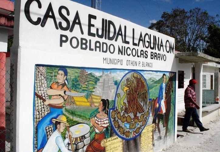 El dinero forma parte de la compra de 70 hectáreas que la CFE realizó al ejido. (Edgardo Rodríguez/SIPSE)