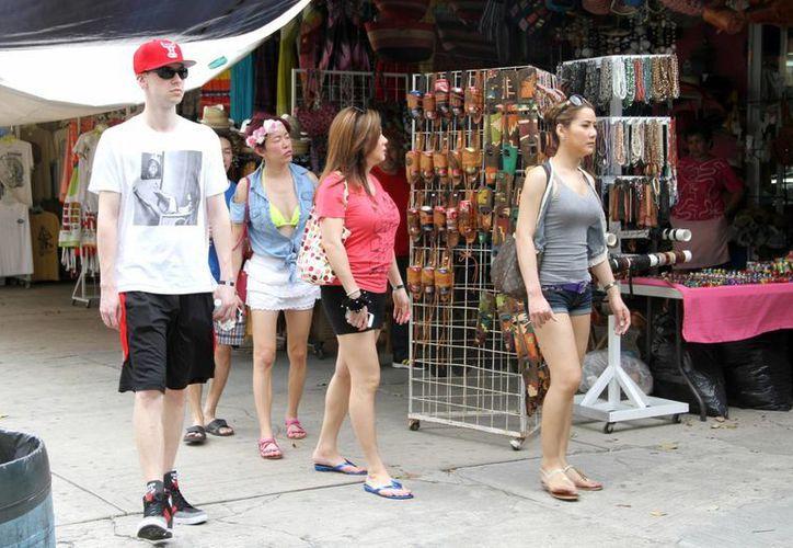 Con el estudio se conocerá el comportamiento de los visitantes. (Tomás Álvarez/SIPSE)