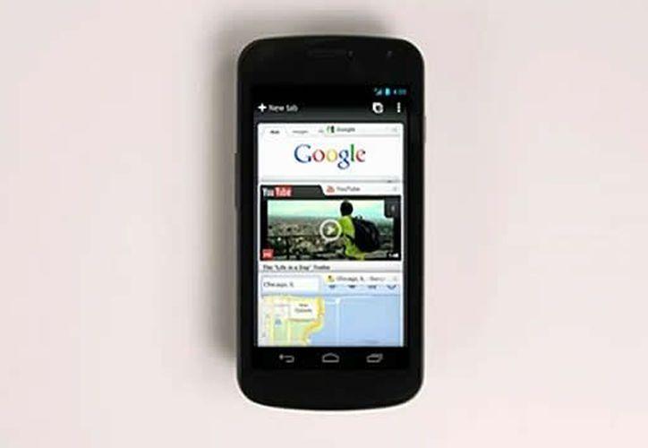 El error de Google fue hallado en la versión 4.2 de su sistema operativo Android (Google). (Agencias)