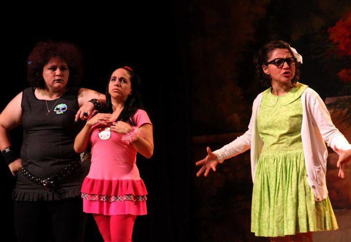 El teatro brinda oportunidades para los jóvenes talentos. Imagen de una obra en el Auditorio Olimpo. (Milenio Novedades)