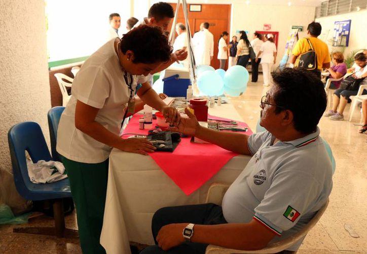 La diabetes es un problema muy serio no solo para Yucatán sino a nivel nacional, por las cuestiones genéticas pero en especial por los malos estilos de vida y mala alimentación. (Milenio Novedades)