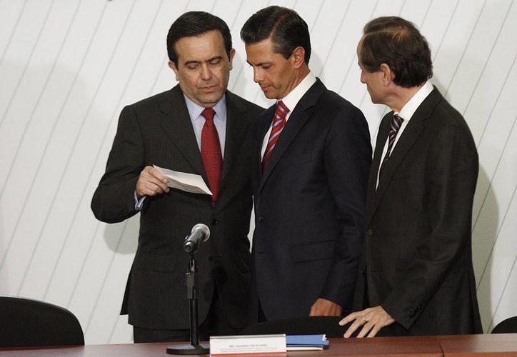 El mandatario aseguró que hay datos que avalan la recuperación y dinamismo de la economía nacional. (Notimex)