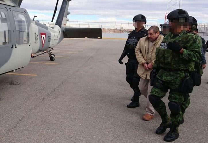 El arresto y extradición a Estados Unidos de 'El Chapo', sacudió el 'bajo mundo' de México. (Foto: Cuartoscuro)