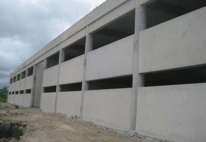 La UPB se construye en una superficie de 15 hectáreas, al noreste de la cabecera municipal. (Javier Ortíz/SIPSE)