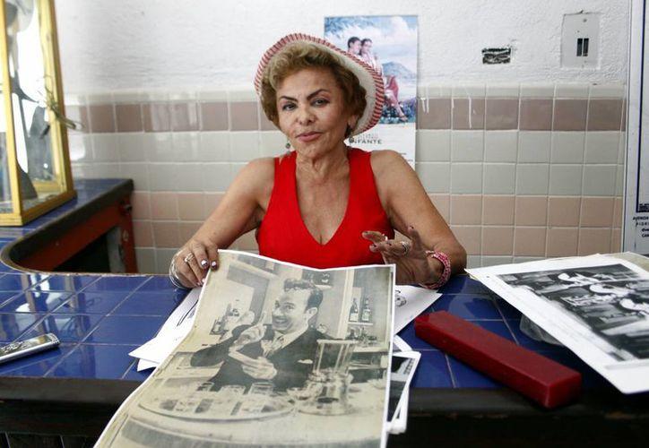 "Bekina Fernand preside el club ""Eternamente Pedro Infante"". (Christian Ayala)"