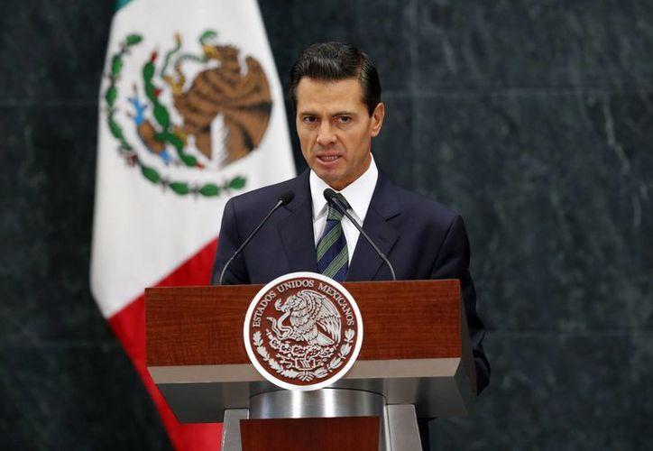 Peña Nieto dijo que invitó a Los Pinos a Donald Trump para abrir los primeros diálogos. (Presidencia)