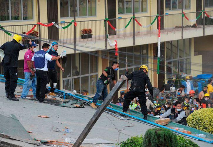 En las escuelas afectadas se han removido bloques derrumbados y se realizarán los estudios debidos. (Foto: El Horizonte)