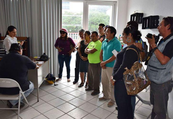 Derechos Humanos asegura que las quejas interpuestas contra Perla Tun por parte de comunicadores, estarán vigentes por un año. (Gustavo Villegas/SIPSE)