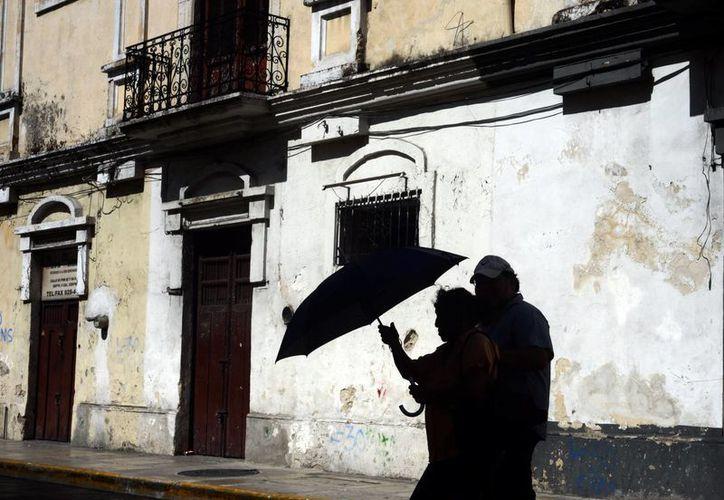 Este domingo prevaleció el calor durante el día en Mérida. (Luis Pérez/SIPSE)