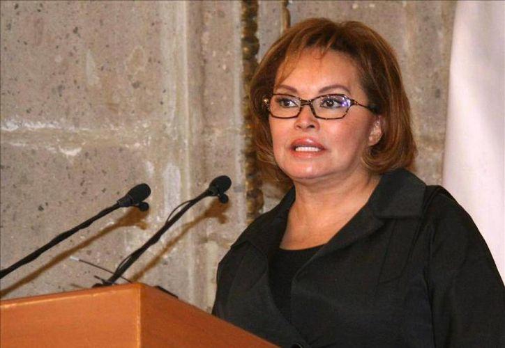 Nora Guadalupe Ugarte, quien presuntamente trianguló recursos del SNTE para pagar gastos de Elba Esther Gordillo. (las5.mx)