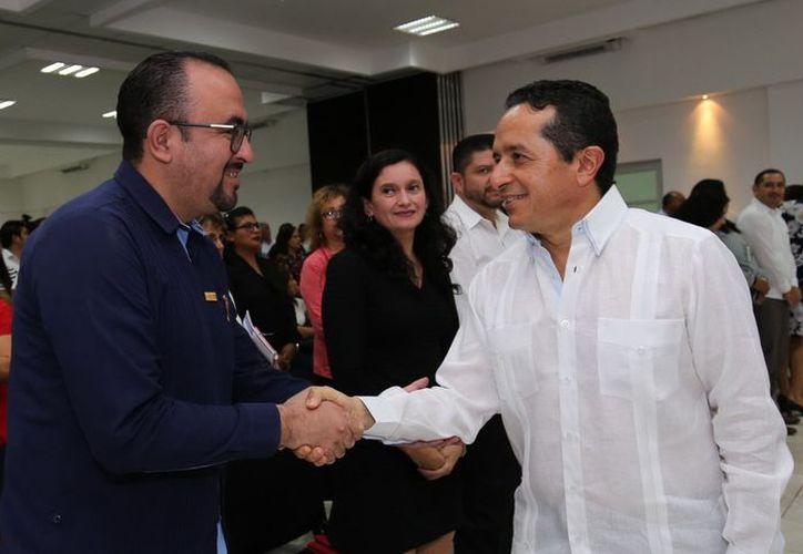 El gobernador Carlos Joaquín encabezó las Jornadas de Justicia Electoral e Igualdad de Derechos en la Escuela del Poder Judicial. (Cortesía)